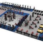 План спортивной части фитнес-клуба