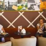 Интерьер мини-кофейни