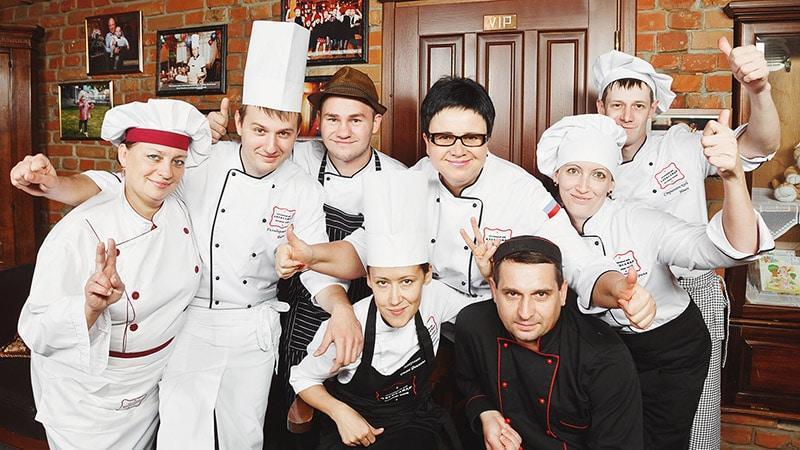 Персонал для открытия ресторана