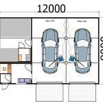План помещения для открытия автомойки