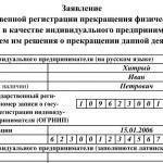 """Форма для закрытия ИП через """"Госуслуги"""""""