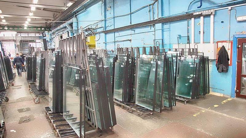 Помещение для производства пластиковых окон