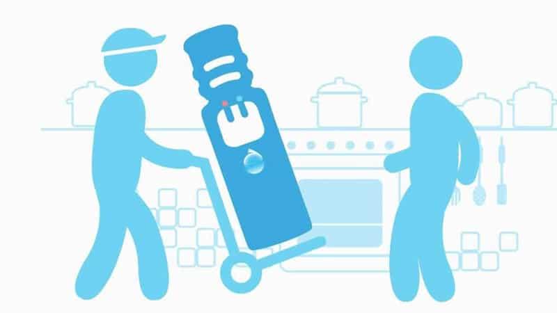 Бесплатная доставка воды на дом