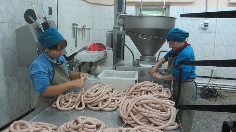 Помещение для производства колбасы