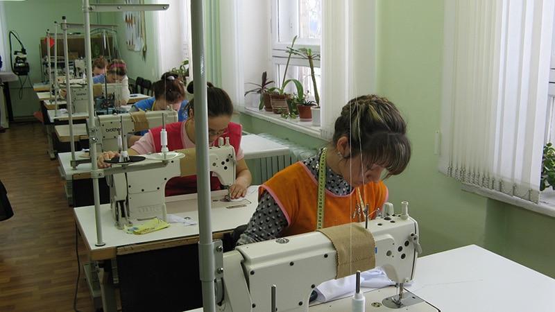 Помещение для открытия швейного производства
