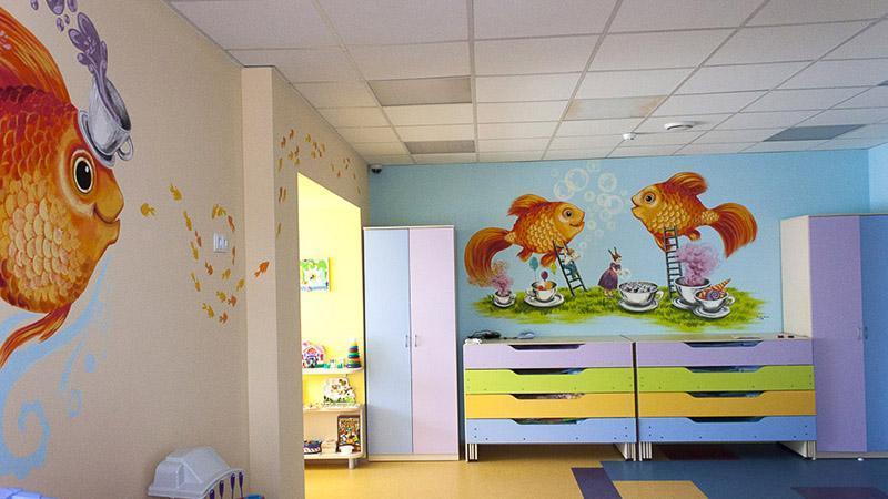 Помещение для открытия детского центра