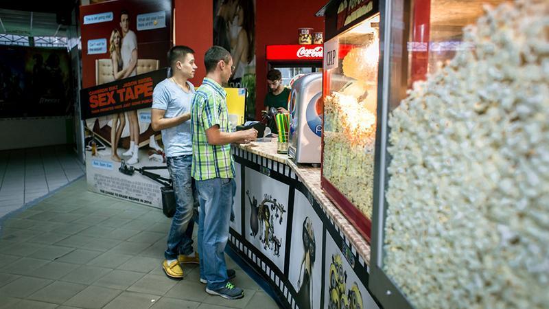 Помещение для открытия мини-кинотеатра
