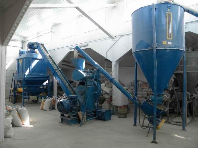 производство комбикорма