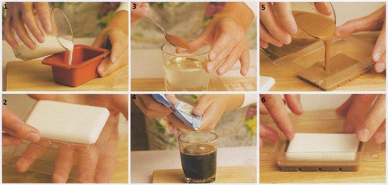Как приготовить мыло своими руками фото