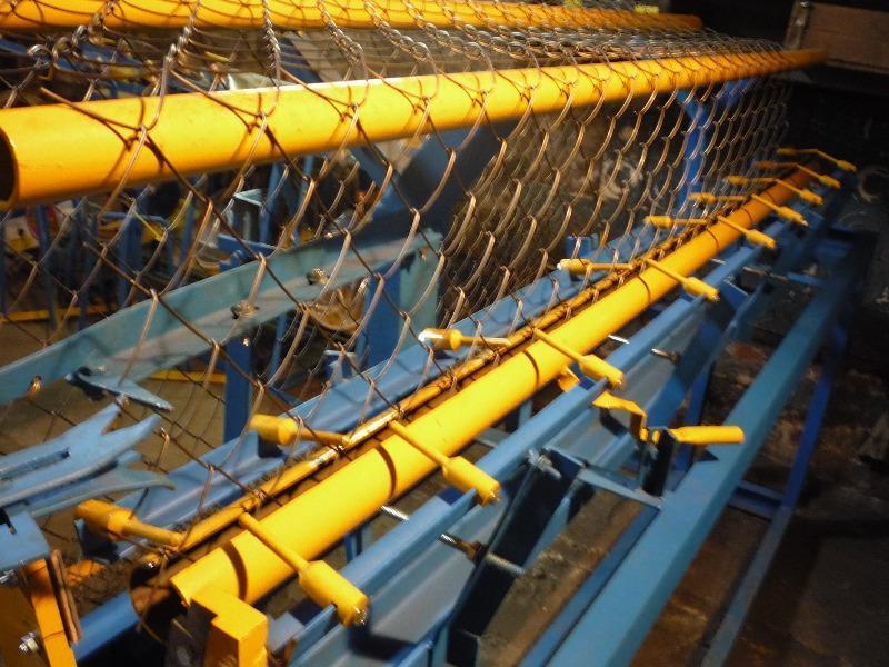 производство сетки плетеной рабицы