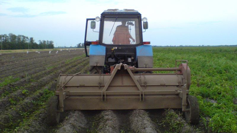Оборудование для выращивания картофеля