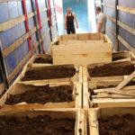 Персонал для производства удобрений из навоза