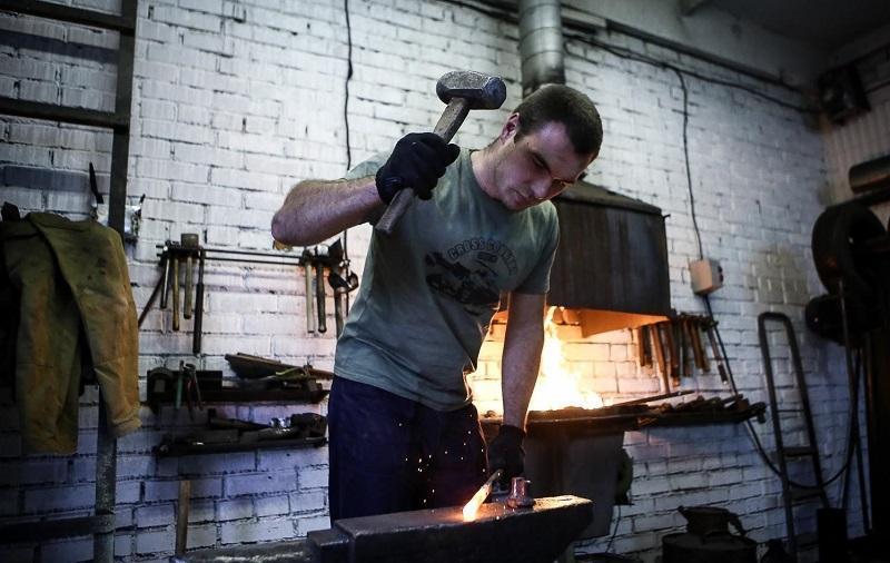 оборудование для мастерской художественной ковки