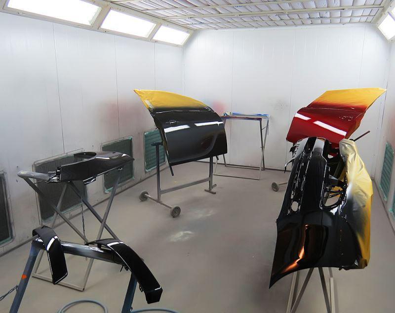 технология оборудование для покраски автомобилей