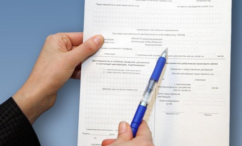 отчет в налоговую для ИП по упрощенке образец заполнения декларации по УСН порядок