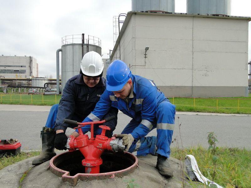 акт проверки пожарных гидрантов на водоотдачу образец
