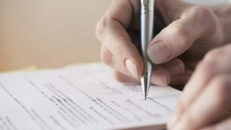 Подписание акта обследования жилого помещения