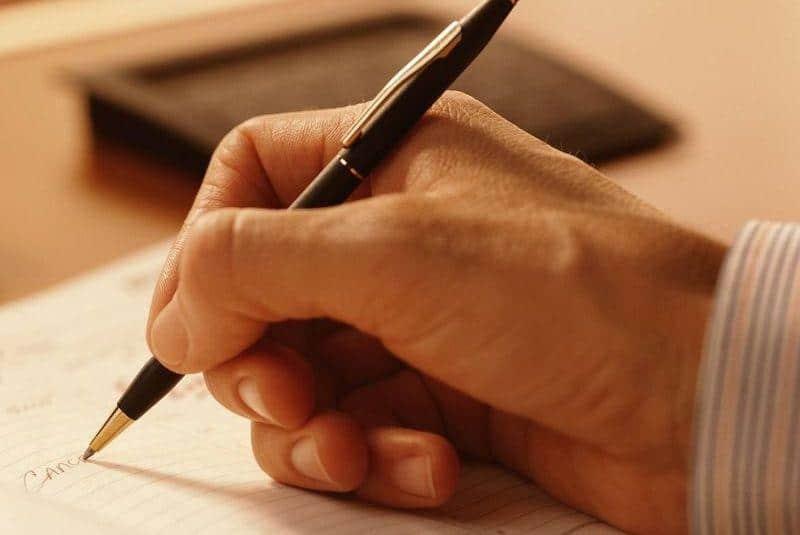 образец как написать от руки доверенность на получение зарплаты за другого человека