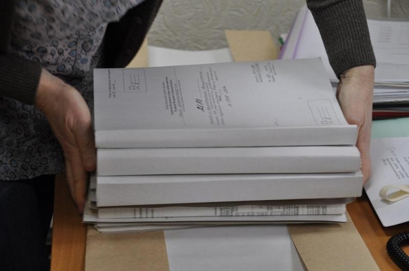 образец описи документов для передачи другой организации форма