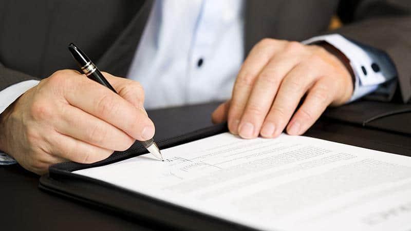 Образец составления акта: порядок подписания