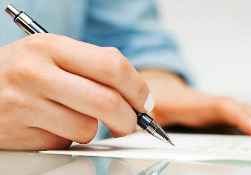 образец заполнения автобиографии при приеме на работу пример написания