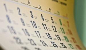 как заполнить график отпусков если отпуск разделен на части
