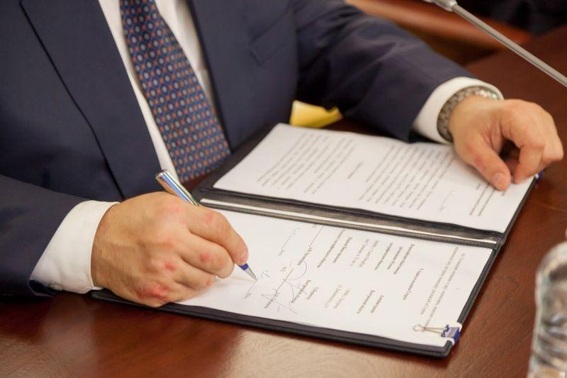 образец приказ на право подписи документов за директора