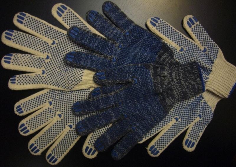 производство рабочих перчаток хб