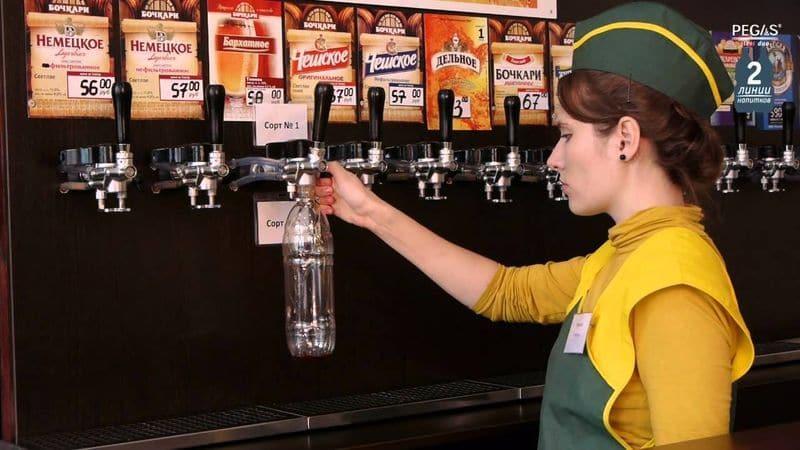 пиво на разлив франшиза