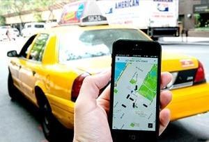 такси везет франшиза