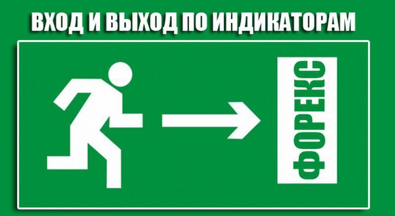 индикаторы форекс показывающие точки входа и выхода