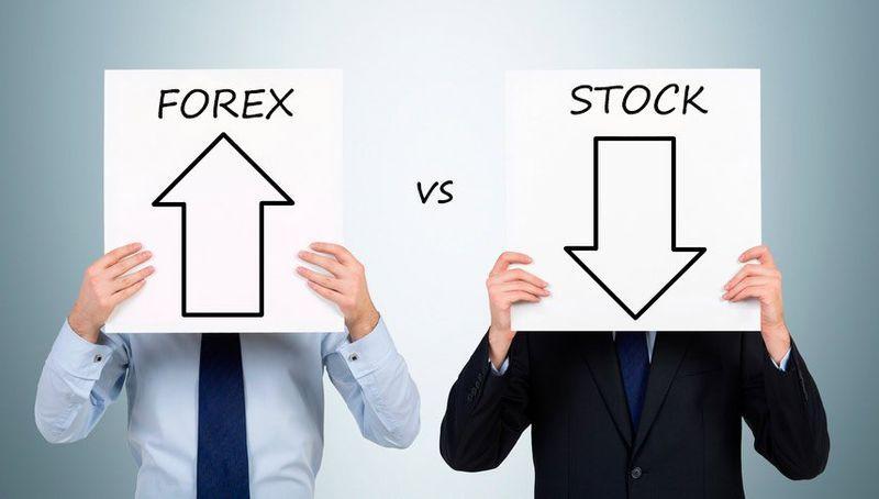 фондовая биржа или форекс